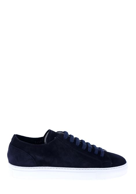 BLUE SNEAKERS IN SUEDE LEATHER DUCA DI WELLS | Sneakers | NU2457ERICUZ106IC36BLU