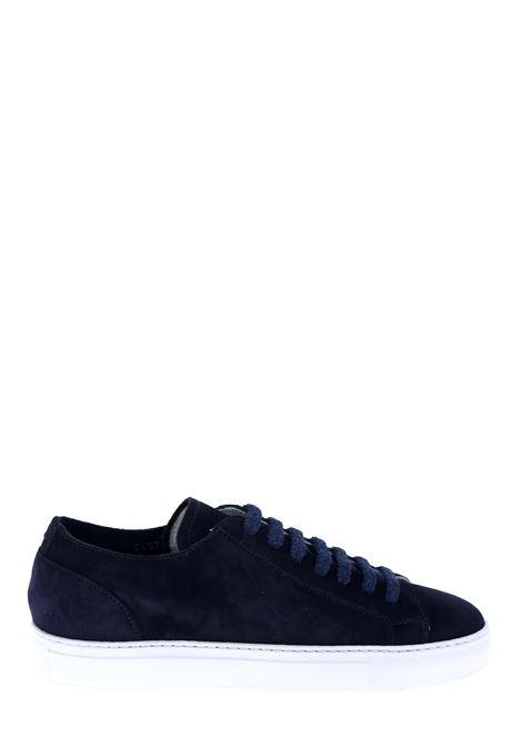 SNEAKERS BLU  IN PELLE CAMOSCIATA DUCA DI WELLS | Sneakers | NU2457ERICUZ106IC36BLU