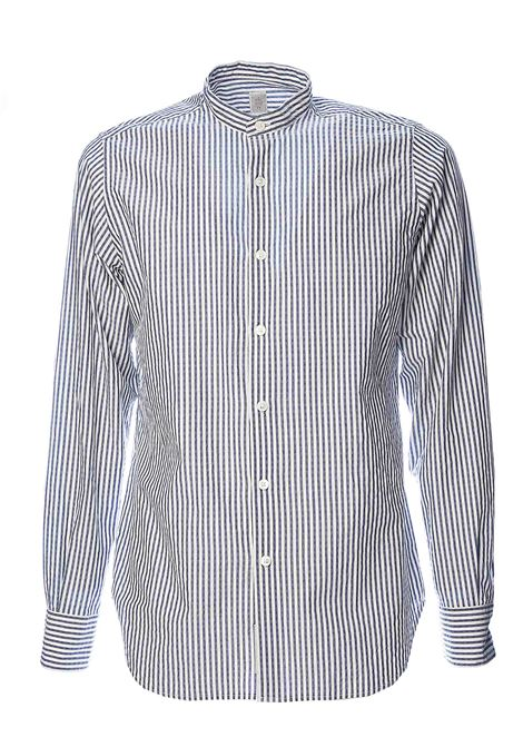 PLATINUM SPECIAL COLLECTION STRIPED SHIRT ELEVENTY | Shirts | A75CAMA04TES0A06408