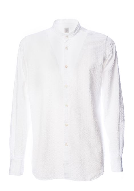 CAMICIA BIANCA PLATINUM SPECIAL COLLECTION IN COTONE ELEVENTY | Camicie | A75CAMA04TES0A07101