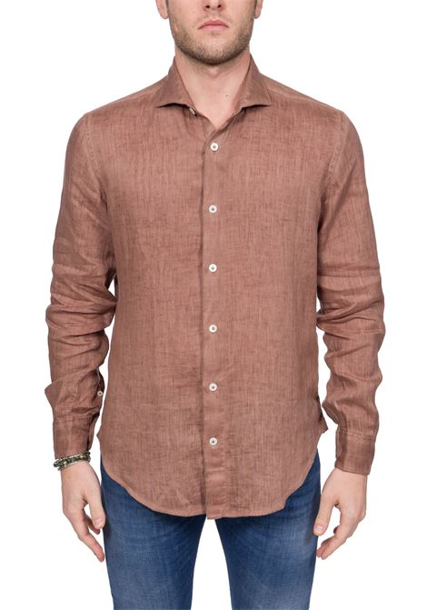 CLASSIC BEIGE COTTON SHIRT ELEVENTY | Shirts | A75CAMA05TET0A01804