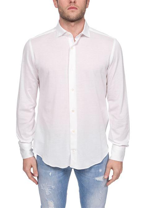 CLASSIC WHITE COTTON SHIRT ELEVENTY | Shirts | A75CAMA18TES0A20701
