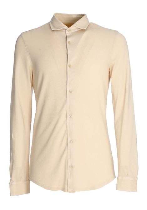 BEIGE POLO SHIRT IN COTTON PIQUET FEDELI | Shirts | 3UEF0101897