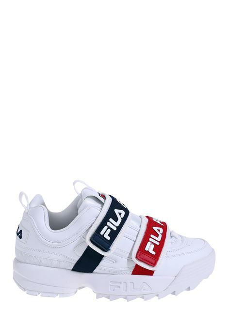 SNEAKERS BIANCA DISRUPTOR STRAPS FILA | Sneakers | 10108591FG