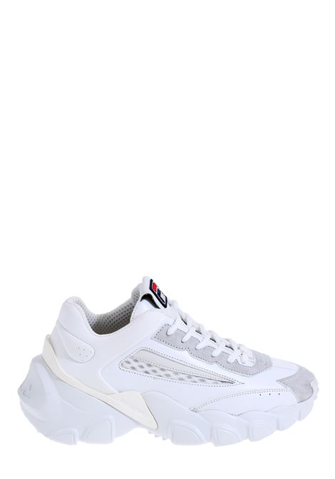 SMASHER WHITE LEATHER SNEAKERS FILA | Sneakers | 10109431FG
