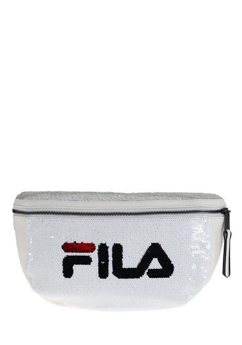 WHITE BABY BAG FULL PAILLETTES FILA |  | 685201M67