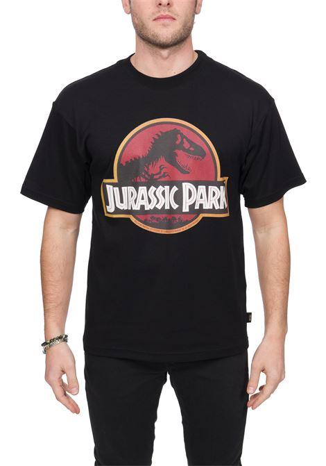 BLACK T-SHIRT JURASSIC PARK MODEL GCDS | T-shirt | JP20M02000602