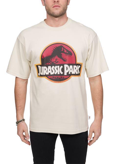 BEIGE T-SHIRT JURASSIC PARK MODEL GCDS | T-shirt | JP20M02000613