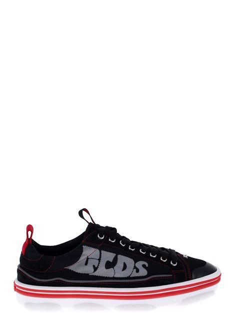 SNEAKERS IN TESSUTO E PELLE NERA GCDS | Sneakers | SS20M01000202
