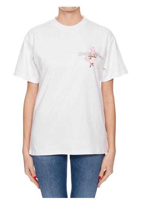 T-SHIRT BIANCA IN COTONE HENTAI MAG GCDS | T-shirt | SS20W02009101
