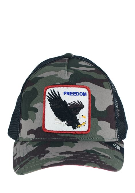 FREEDOM GREEN VISOR HAT GOORIN BROS | Hats | 0209FREEDOMMILITARE