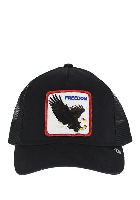 FREEDOM BLACK VISOR HAT GOORIN BROS | Hats | 0209FREEDOMNERO