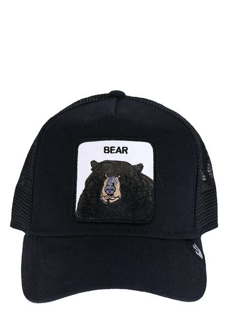 BEAR BLACK VISOR HAT GOORIN BROS | Hats | 0220BEARNERO
