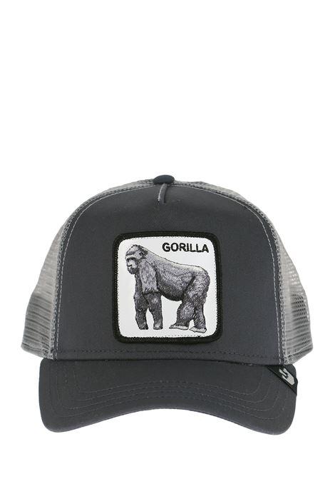 GORILLA GRAY VISOR HAT GOORIN BROS | Hats | 0333KINGGRIGIO