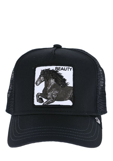 FREEDOM BLACK VISOR HAT BEAUTY BLACK VISOR HAT GOORIN BROS | Hats | 0650BEAUTYNERO