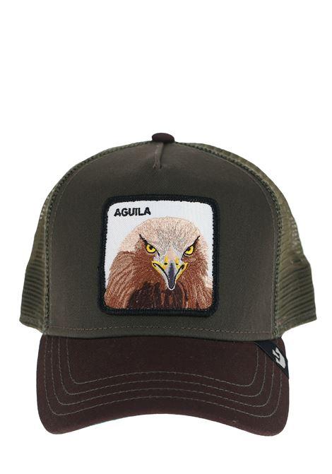 AQUILA GREEN VISOR HAT GOORIN BROS | Hats | 0675AQUILAMILITARE