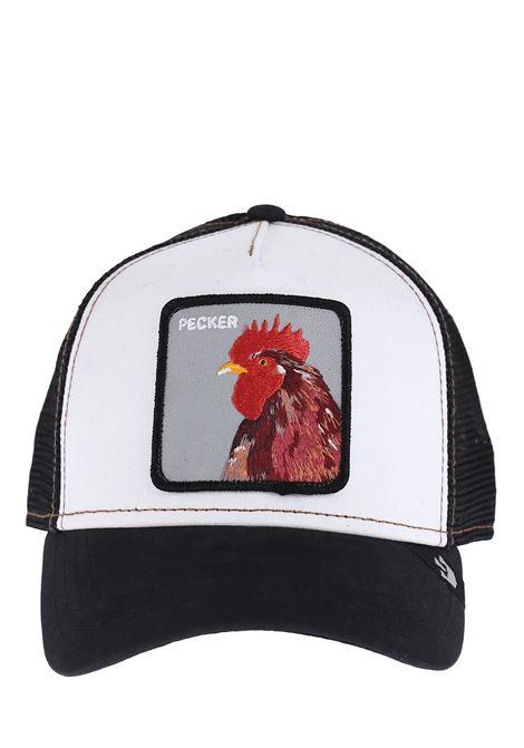 PCKER BLACK VISOR HAT GOORIN BROS | Hats | 5153PECKERNERO