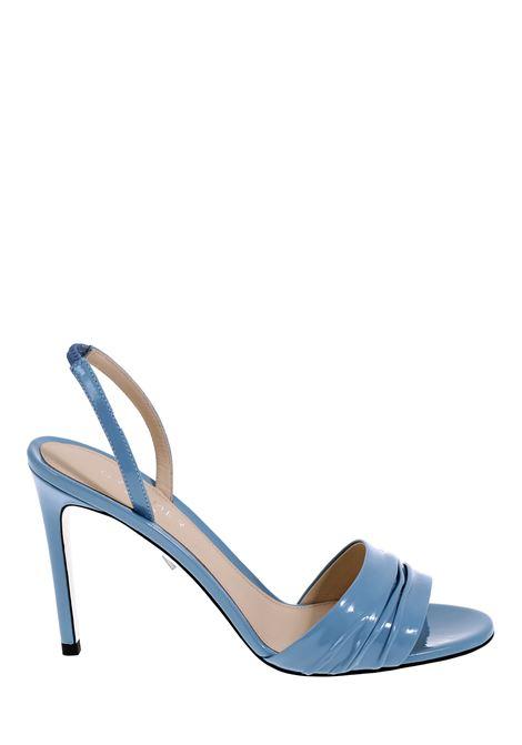 BLUE PATENT SANDAL GREYMER | Sandals | G20SC003Q0278706754090AZZURRO