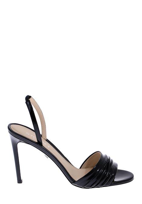 BLACK PATENT SANDAL GREYMER | Sandals | G20SC003Q0278997754090