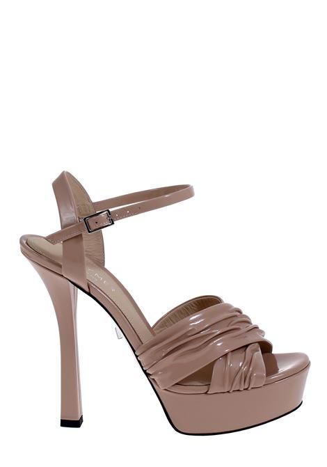 POWDER PATENT SANDAL GREYMER | Sandals | G20SC015Q0278409764090