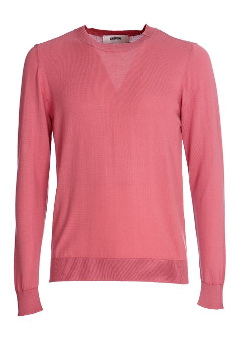 PINK COTTON SWEATER GRIFONI | Sweaters | GG110039/78416