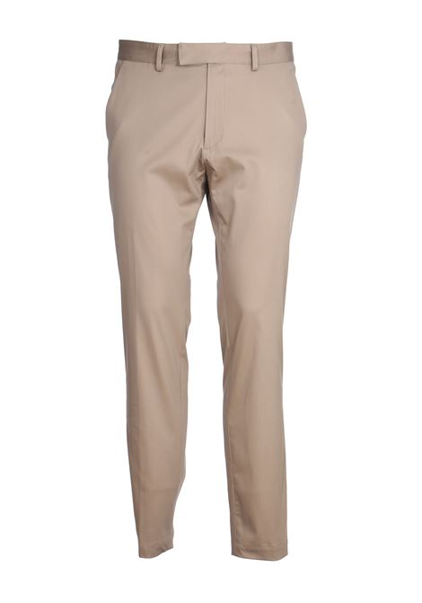 BEIGE CHINO COTTON TROUSERS GRIFONI | Pants | GG140010/271631