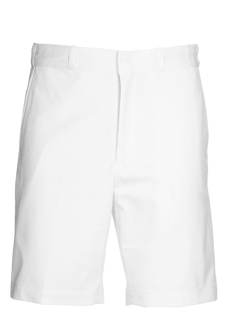 WHITE COTTON SHORTS GRIFONI | Bermuda Shorts | GG141000/35001