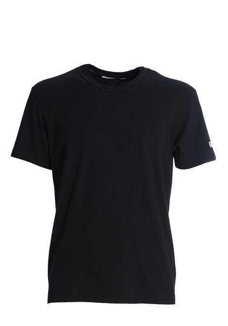 T-SHIRT NERA IN COTONE GRIFONI | T-shirt | GG180003/51003