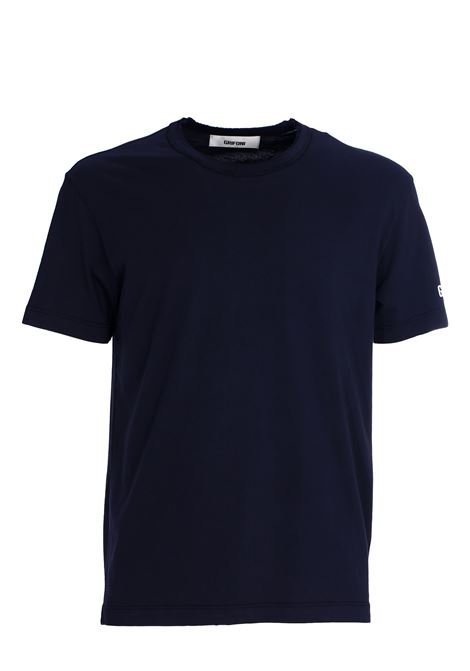 T-SHIRT NAVY IN COTONE GRIFONI | T-shirt | GG180003/51582