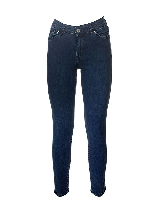 NORA MODEL COTTON DENIM JEANS GRIFONI | Jeans | GG242000/93M11