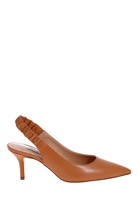 DECOLLETE 'LEATHER CAMEL GUGLIELMO ROTTA | Décolleté | 4153VCAMMELLO