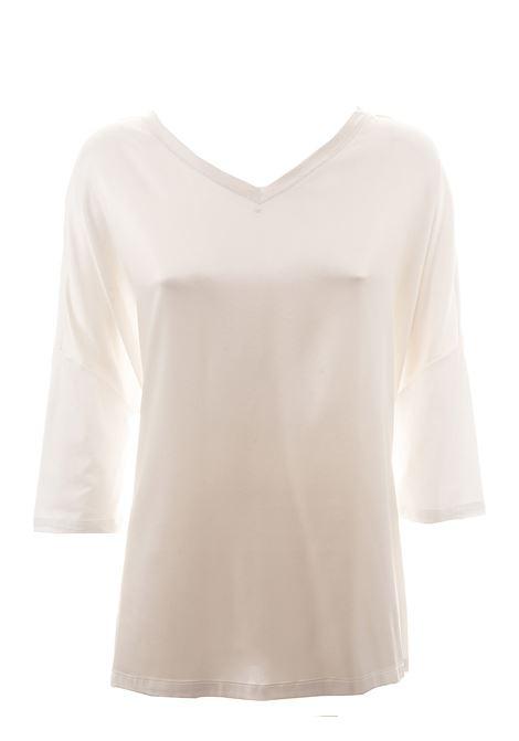 BEIGE MERINO WOOL SWEATER HEMISPHERE | Sweaters | HES02014637-177220