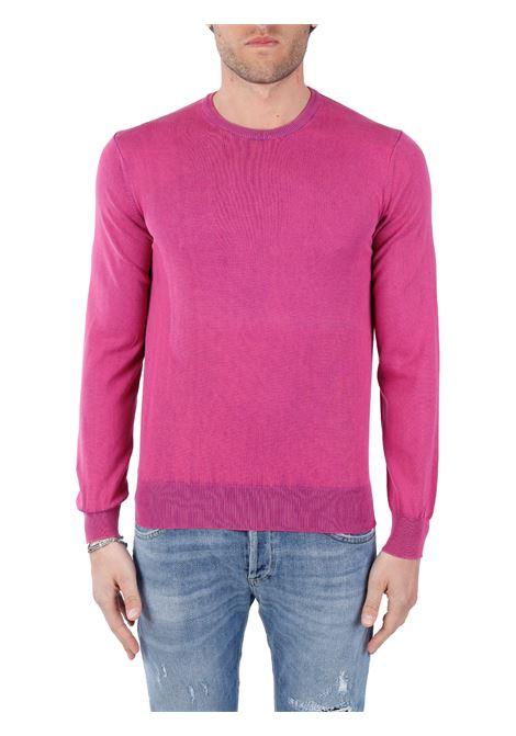 FUCHSIA SWEATER IN COTTON KANGRA | Shirts | 08487153