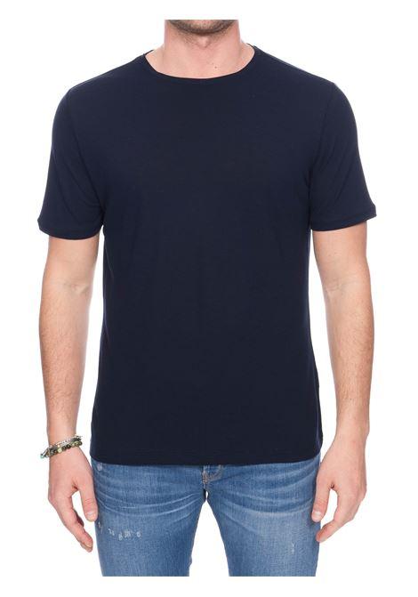T-SHIRT BLU  IN COTONE KANGRA | T-shirt | 94082138