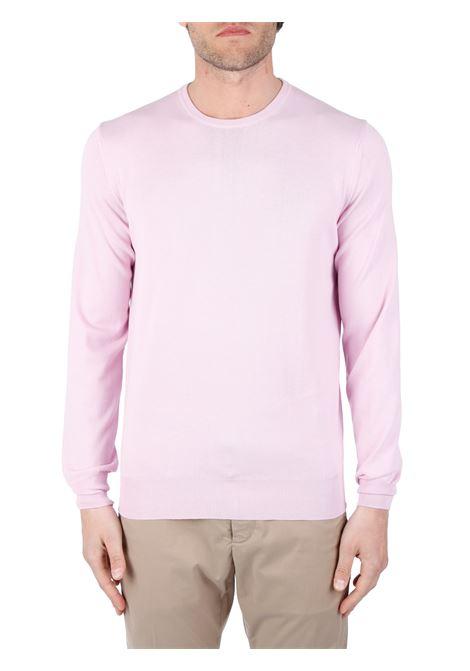 PINK COTTON SWEATER KANGRA | Shirts | E9K50100108461131