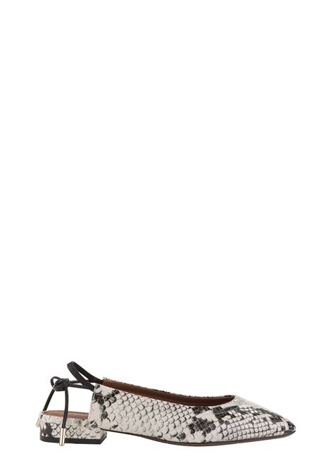 SLING BACK BALLERINA WITH PYTHON PRINT L'AUTRE-CHOSE | Ballerinas | LDL03520CP29113020MULTICOLOR