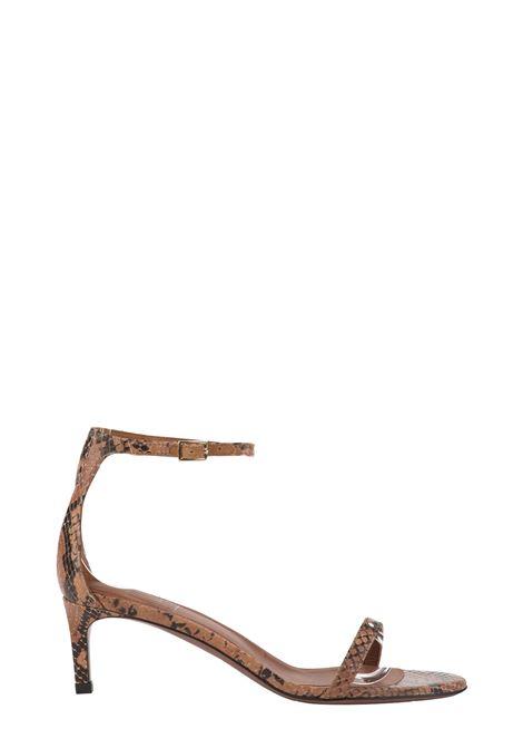 PYTHON PRINT SANDAL L'AUTRE-CHOSE | Sandals | LDL05055CP29112106BEIGE