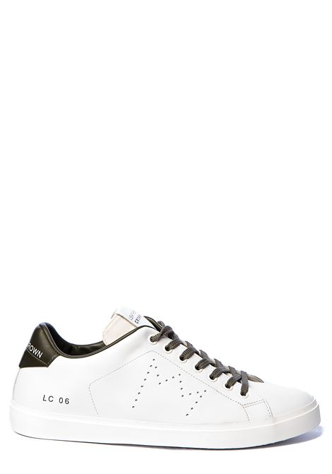 WHITE LEATHER SNEAKERS WITH PERFORATED CROWN LEATHER CROWN | Sneakers | MLC06602