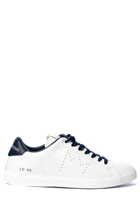 WHITE LEATHER SNEAKERS WITH PERFORATED CROWN LEATHER CROWN | Sneakers | MLC06620