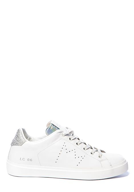 WHITE LEATHER SNEAKERS WITH PERFORATED CROWN LEATHER CROWN | Sneakers | WLC06613