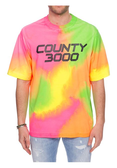 COUNTY3000 COTTON MULTICOLOR T-SHIRT MARCELO BURLON | T-shirt | CMAA054S20JER0086870