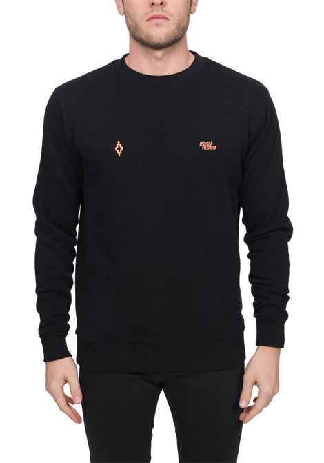 BLACK SWEATSHIRT MARCELO BURLON FOR EASY RIDER MARCELO BURLON | Sweatshirts | CMBA009S20FLE0101084