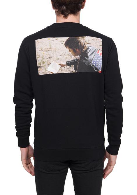 BLACK SWEATSHIRT MARCELO BURLON FOR EASY RIDER MARCELO BURLON | Sweatshirts | CMBA009S20FLE0101084