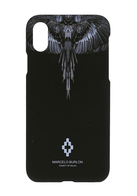 COVER NERA IPHONE XS MARCELO BURLON | Cover | CMPA014S20MAT0031001