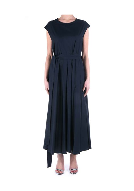 BLUE FILLY DRESS IN COTTON POPLIN MAX MARA'S | Dress | 92211501600017