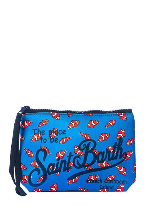 POCHETTE BLU ALINE FISHY 17 MC2SAINTBARTH | Pochette | ALINEFISH17MULTICOLOR