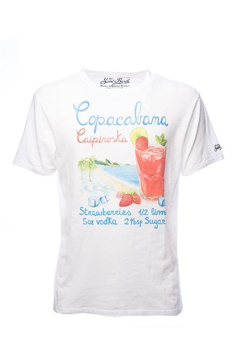 T-SHIRT BIANCA SKYLAR COPACABANA 01 IN COTONE MC2SAINTBARTH | T-shirt | SKYLARCPCB01COPACABANAbianco