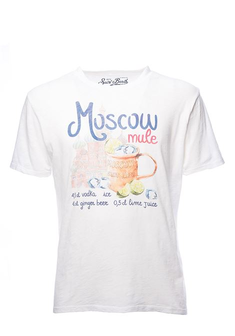 WHITE SKYLAR MOSCOW CUP 01 COTTON T-SHIRT MC2SAINTBARTH | T-shirt | SKYLARMSCU01MOSCOWCUPbianco