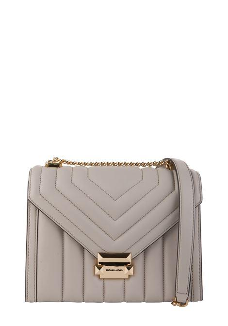 BEIGE WHITNEY SHOULDER BAG MICHAEL DI MICHAEL KORS | Bags | 30F8GXIL3T182WHITNEY182