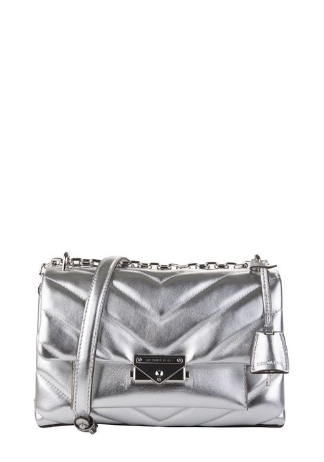 SILVER CECE BAG IN QUILTED LEATHER MICHAEL DI MICHAEL KORS | Bags | 30H9S0EL6K040CECE040